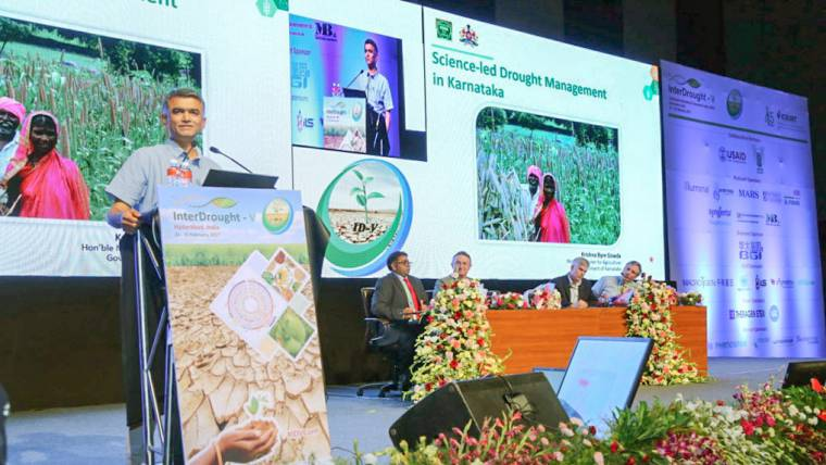 InterDrought-V calls for modern agriculture technologies to combat drought