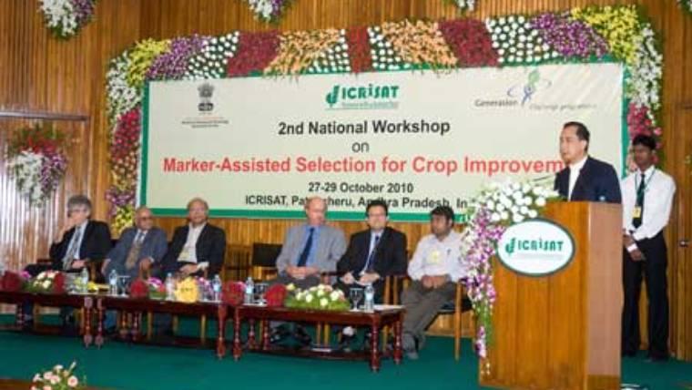 Second National Workshop on Marker-Assisted Selection held at Patancheru