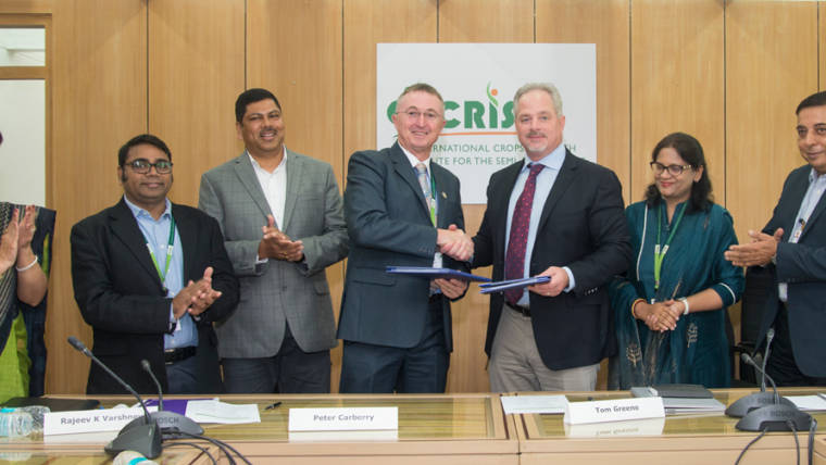 ICRISAT and Corteva Agriscience™, Agriculture Division of DowDuPont, Collaborate for Sharing Advanced Breeding Technologies to Improve Crops that Feed Millions